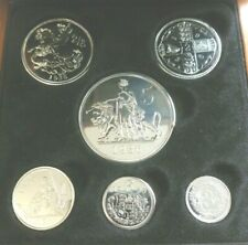 More details for 1936 edward viii proof fantasy 6-coin set with wooden case inc una & lion 5/-