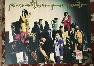 PRINCE AND THE NEW POWER GENERATION  original poster from 1993