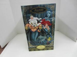 Disney Fairytale Designer Collection ARIEL & KING TRITON LE 1618/6000 Doll