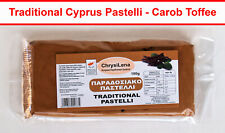 00763 Pastelli Pasteli Traditional Cyprus Sweet 100g Carob Toffee - Energy Bar