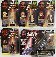 Star Wars: qui-Gon Yinn, Obi-Wan, Darth Maul, Battle Droid, CommTalk Lector