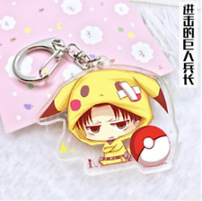 Hot Japan Anime Attack on Titan Acrylic Key Ring Pendant Keychain Gift