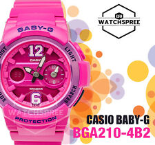 Casio Baby-G Sporty BGA-210 Series Analog Digital Watch BGA210-4B2