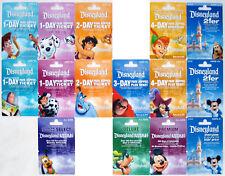 15 Different DISNEYLAND Passport Disney Gift Cards 2007: Mickey, Pluto, Buzz etc