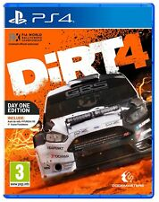 DIRT 4 EDIZIONE DAY ONE PS4 VIDEOGIOCO RALLY GIOCO CORSE ITALIANO PLAYSTATION 4