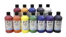 Sax True Flow Heavy Body Acrylic Paint Set, Pints, Assorted Colors, Set of 12