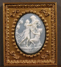 Framed 3D Cameo Picture ~ Jim Coates ~ Dollhouse ~ 1:12 scale ~ Room Box