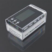 3 in 1 2-6S Lipo LiFe LCD Battery Balancer + Discharger + Voltage Checker Tester
