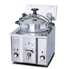 Sale! 16L Commercial Electric Countertop Pressure Fryer Chicken Cooking Machine