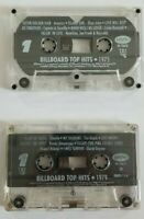 Billboard Top Hits 1975 and 1979 Audio Cassette Bundle of 2 Tapes No Inlay