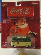 Johnny Lightning Coca-Cola Brand Volkswagen Samba Bus