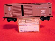 KD 23040 (Blue Label 23157) BALTIMORE & OHIO 40' DD Box Car #298891 MINT N-SCALE