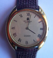 Vintage Universal Geneve Gilt Shadow Automatic - Mens Wristwatch - Gold Filled