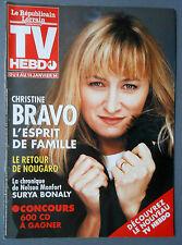 ►TV HEBDO /  CHRISTINE BRAVO - CLAUDE NOUGARO - SURYA BONALY - KIDMAN