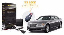 Flashlogic Remote Start for Chrysler 300 2008-2011 Remote Starter Easy Install