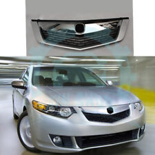 ABS Front Bumper Middle Center Hood Grille Grill For Honda Acura TSX 2011-14 KP