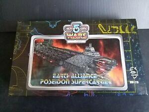 Babylon 5 Wars 2nd Edition - EARTH ALLIANCE POSEIDON SUPERCARRIER. BW-219