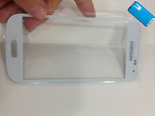 Front Outer Touch Screen Glass Lens For Samsung Galaxy S4 mini I9190 + Adhesive