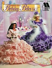PAA1 Fashion Doll Birthday Belles I Crochet Patterns from Annie's Attic