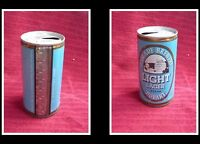 COLLECTABLE AUSTRALIAN STEEL BEER CAN, CASCADE LIGHT LAGER HOBART 375ml