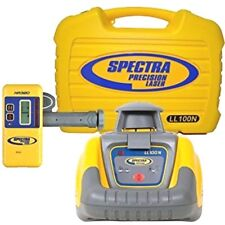 Spectra Precision LL100 LL100N Rotary Laser Level with HR320 Receiver Trimble