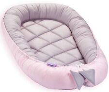 Baby Nestchen Babykokon Kuschelnest Babynest Kokon Nestchen XL LANG bis zu 120cm