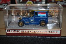 Matchbox 1/43 Olympic Heritage Collectable Amsterdam 1928 Talbot Van