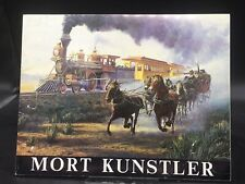 Mort Kunstler 1985 Paintings Of America Exhibition Cataloge Hammer Galleries