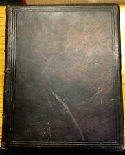 1853 BOOK OF COMMON PRAYER CHRISTIAN BIBLE RELIGION CHRIST OXFORD FINE BINDING