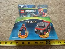 Lego Dimensions, The A-TEAM, Mr. T (B.A. Baracus) and A-team van. set 7151. New!