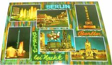 Berlin bei Nacht Berlin Ansichtskarte 50er 60er Jahre 35 å