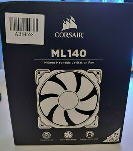 Corsair ML140 140mm Premium Magnetic Levitation Fan - Twin Pack