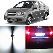 Alla Lighting License Plate Light 2825L White LED Bulbs for Chevrolet Aveo Aveo5