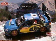 SUBARU IMPREZA WRC RALLY MONTE CARLO 2006 SARRAZIN 1/43 IXO ALTAYA PREVOT