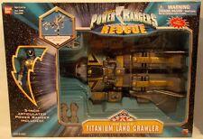 "Power Rangers Lightspeed Rescue - Deluxe Titanium Land Crawler With 5"" Ranger"