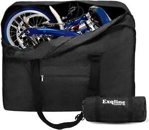 ExqlineFahrradtasche Fahrrad Transporttasche Klapprad Tragetasche 82 x 32 x 67cm