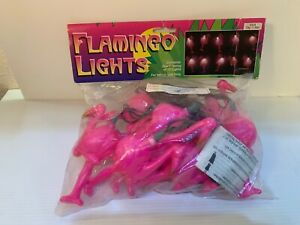 Pink Flamingo Tropical String Lights Set of 10 Holiday Party Decoration UL0763