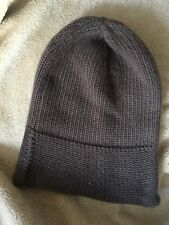 Superbe Bonnet Cachemire Marc Jacobs !!! Amazing Mj Brown Cashmere Cap RARE !!!