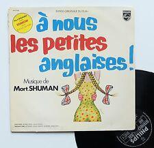"""Vinyle 33T Mort Shuman  """"A nous les petites anglaises !"""""""