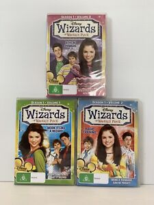 Wizards Of Waverly Place : Season 1 : Vol 1 2 3 Complete DVD, 2010 Selena Gomez