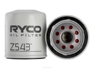 Ryco Oil Filter Z543 fits Peugeot 2008 1.2 VTi (60kw)