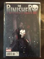 The Punisher issue #3 1:25 Becky Cloonan Variant NM Marvel
