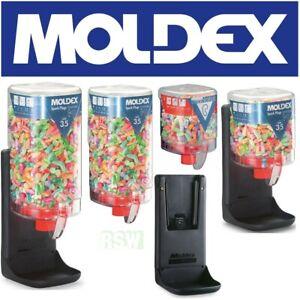 MOLDEX Gehörschutzstöpsel Spark Plug Spender Auswahl 250/500 Paar Wandhalterung