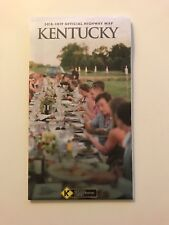 KENTUCKY OFFICIAL STATE HIGHWAY MAP 2018 - 2019 EDITION