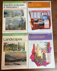 Lot 4 Walter Foster How to Draw Paint Landscapes Seascapes Still Life Acrylic