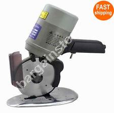 YJ-125 Cloth Cutter Fabric Cutting Machine Shear Rotary Electric Scissors & 220V