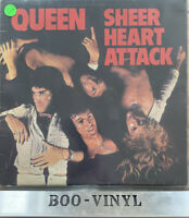 QUEEN - SHEER HEART ATTACK LP VINYL Original 1974 Album Early UK Press 5U/3U EX