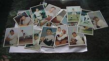 Set de cartes neuves de baseball de 19 cartes!