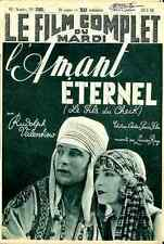 RUDOLPH VALENTINO FILM COMPLET 2282 1939 french Magazine CHEIK 10 pages