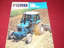 Ford 4100 4600 4600SU Tractor Dealer's Brochure